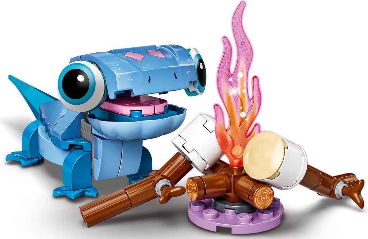 Bruni the Salamander Buildable Character gameplay