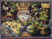 The Pillars of the Earth game board