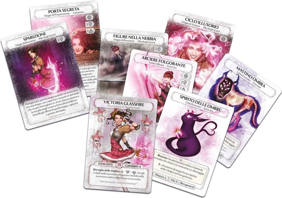 Ashes: La Duchesse de l'Illusion cartes