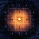 Dark Is The Night game board