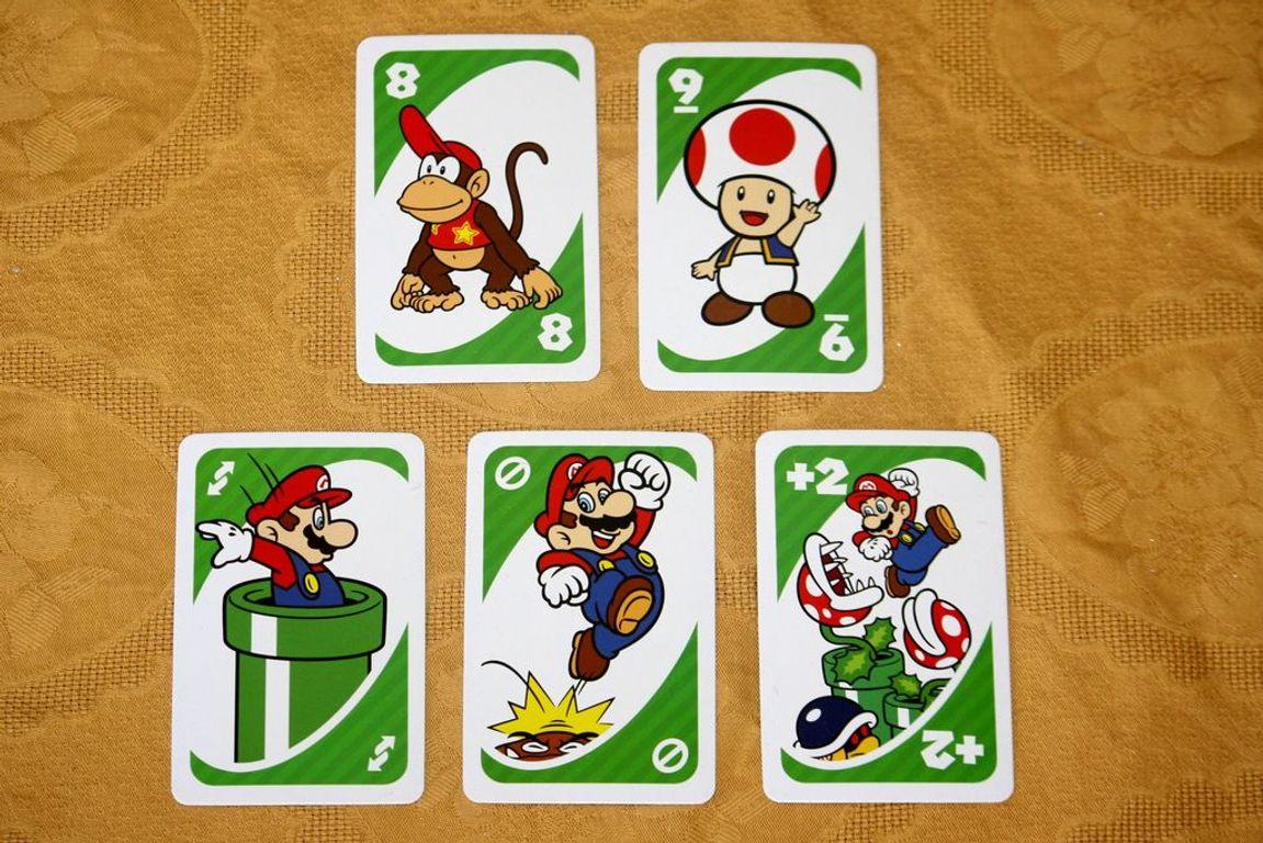 Uno: Super Mario cards