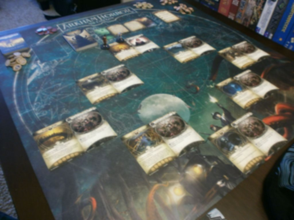 Arkham Horror: The Card Game - Carnevale of Horrors: Scenario Pack gameplay