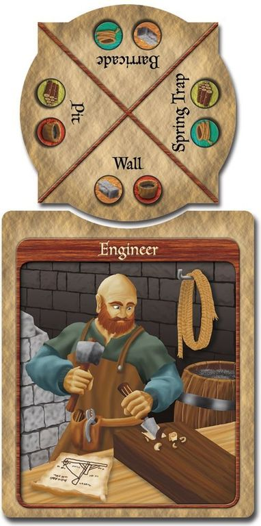 Castle Panic: Engines of War cards