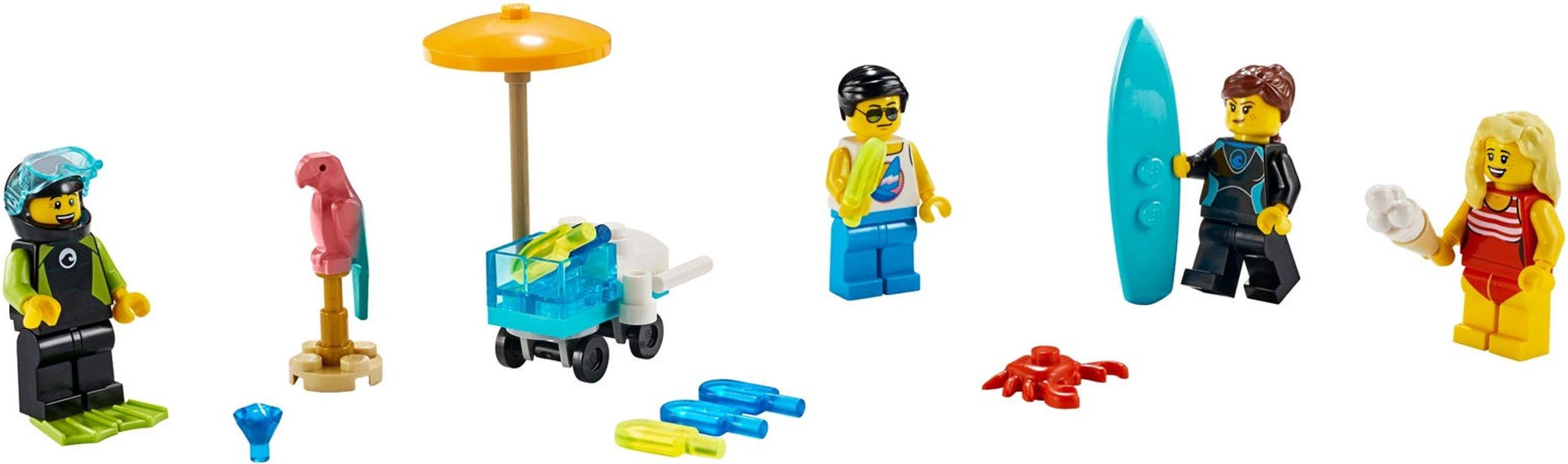 LEGO® Minifigures MF Set – Summer Celebration components