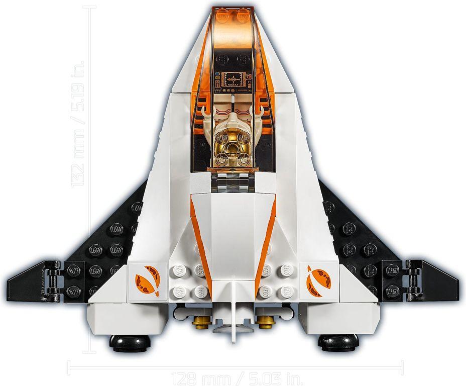 LEGO® City Satallite Service Mission back side