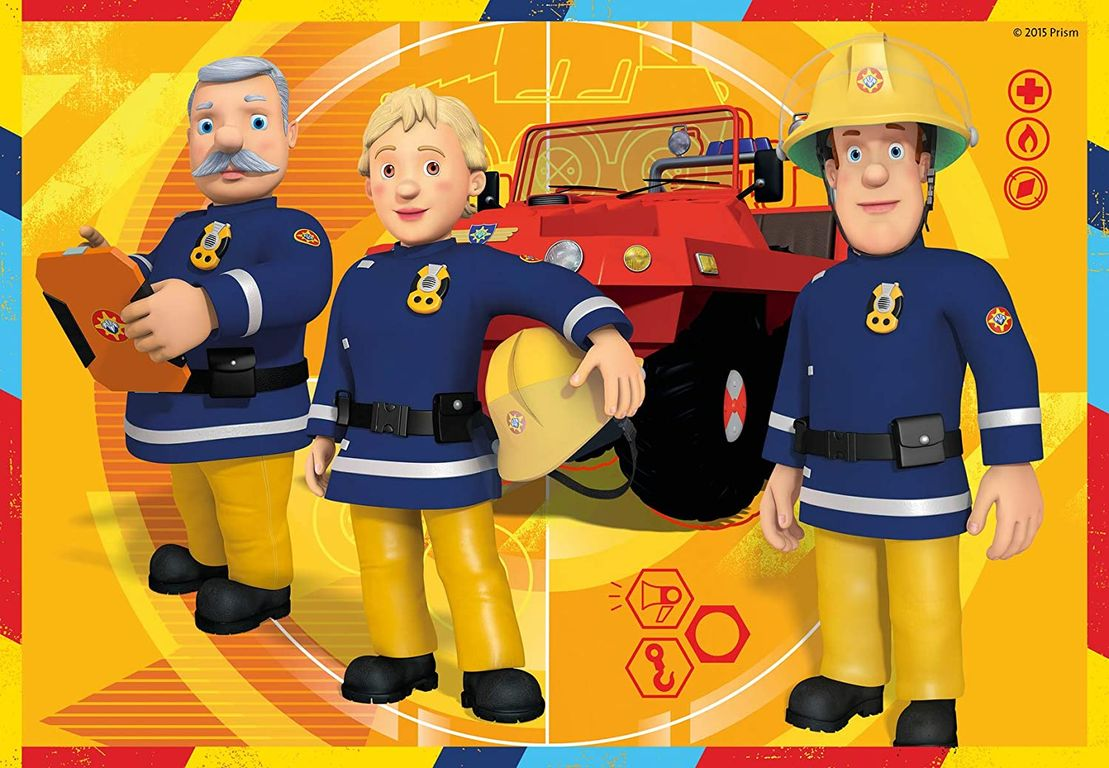 Fireman Sam At Work