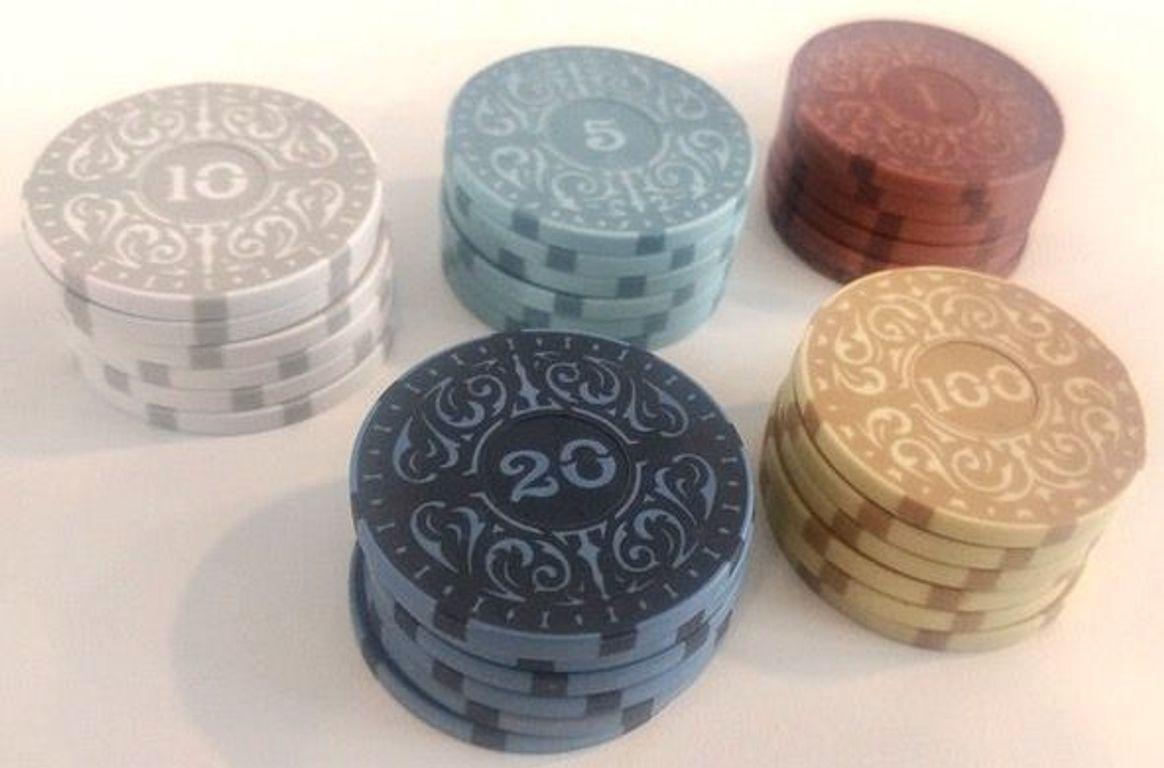 Brass: Iron Clays pièces de monnaie