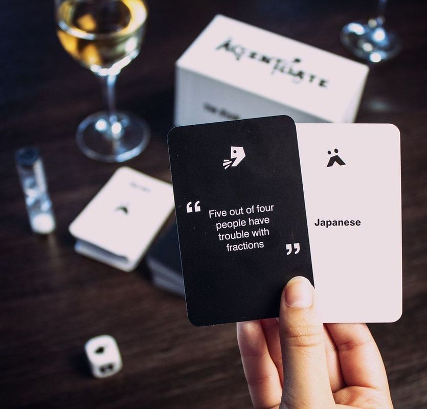 Accentuate cards