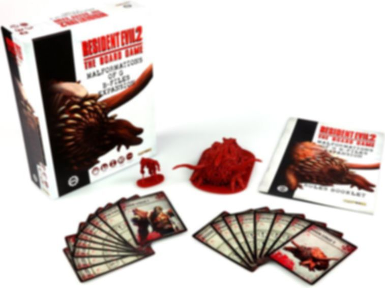 Resident Evil 2: The Board Game – Malformations of G B-Files components