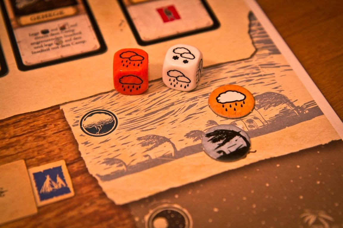 Robinson Crusoe: Adventures on the Cursed Island components
