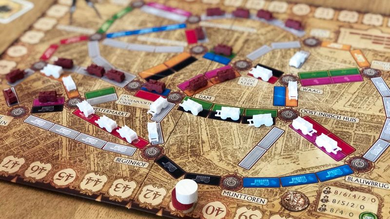 Ticket to Ride: Amsterdam gameplay