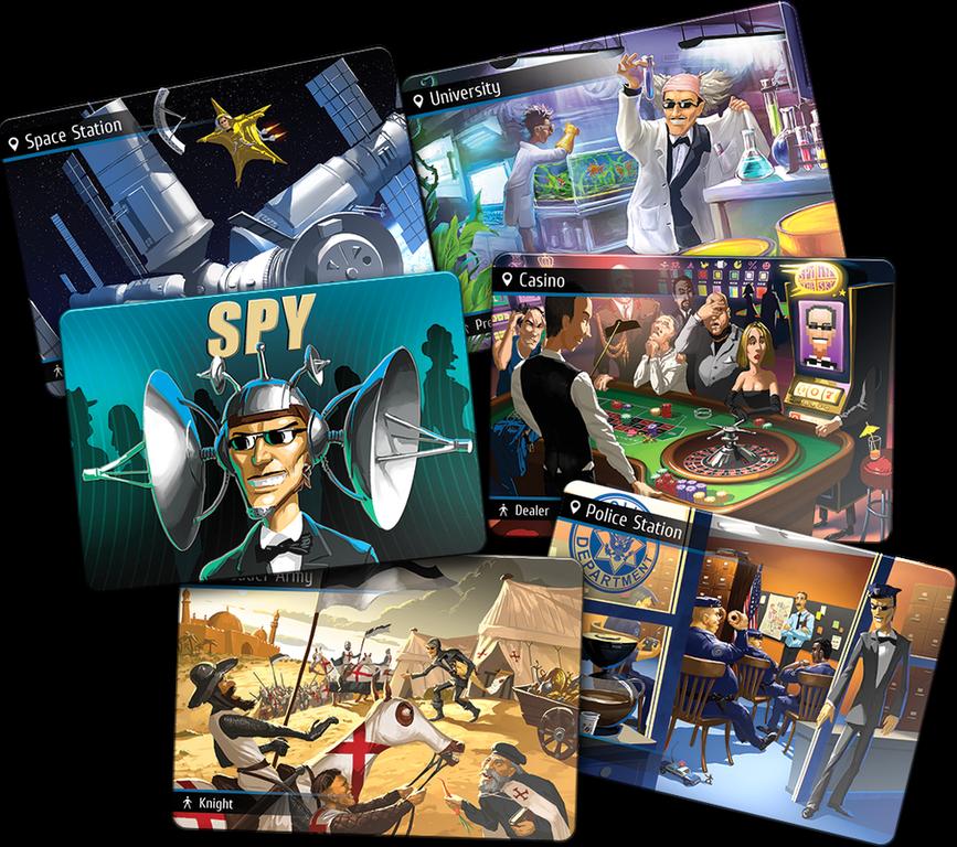 Spyfall cards