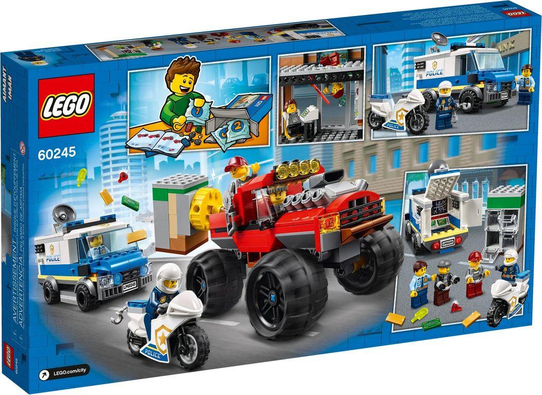 LEGO® City Police Monster Truck Heist back of the box