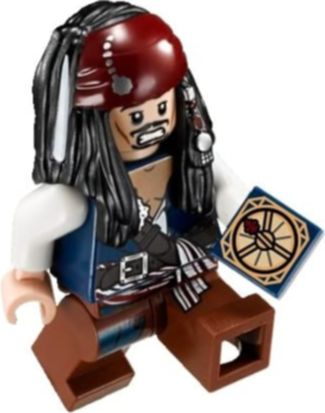 LEGO® Duel at the Mill Jack Sparrow minifigures