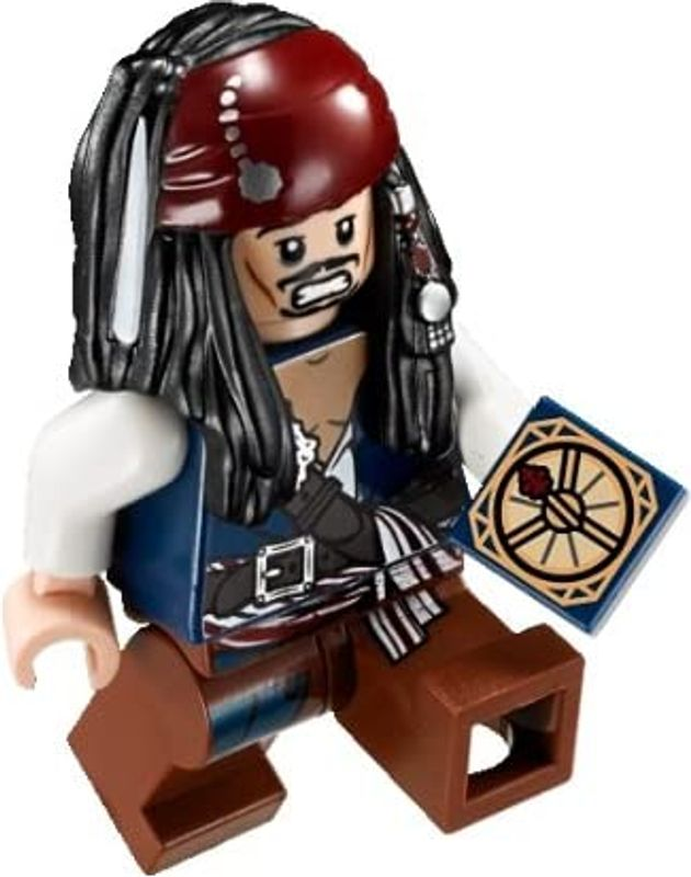Duel at the Mill Jack Sparrow minifigures