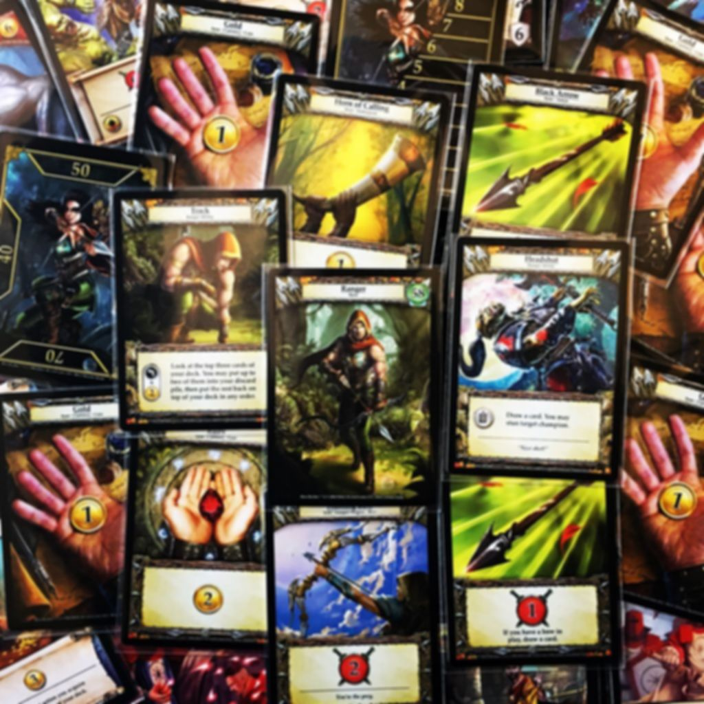 Hero Realms: Character Pack - Ranger cards