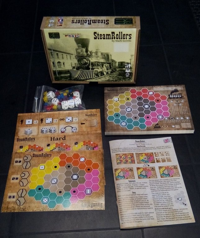 SteamRollers components
