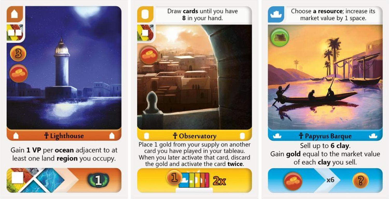 Deus: Egypt cards