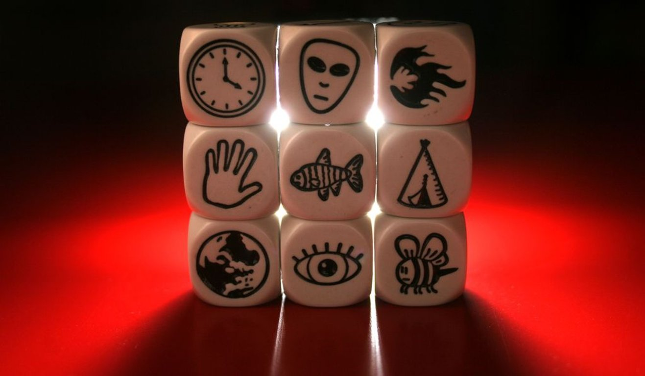 Rory's Story Cubes dice
