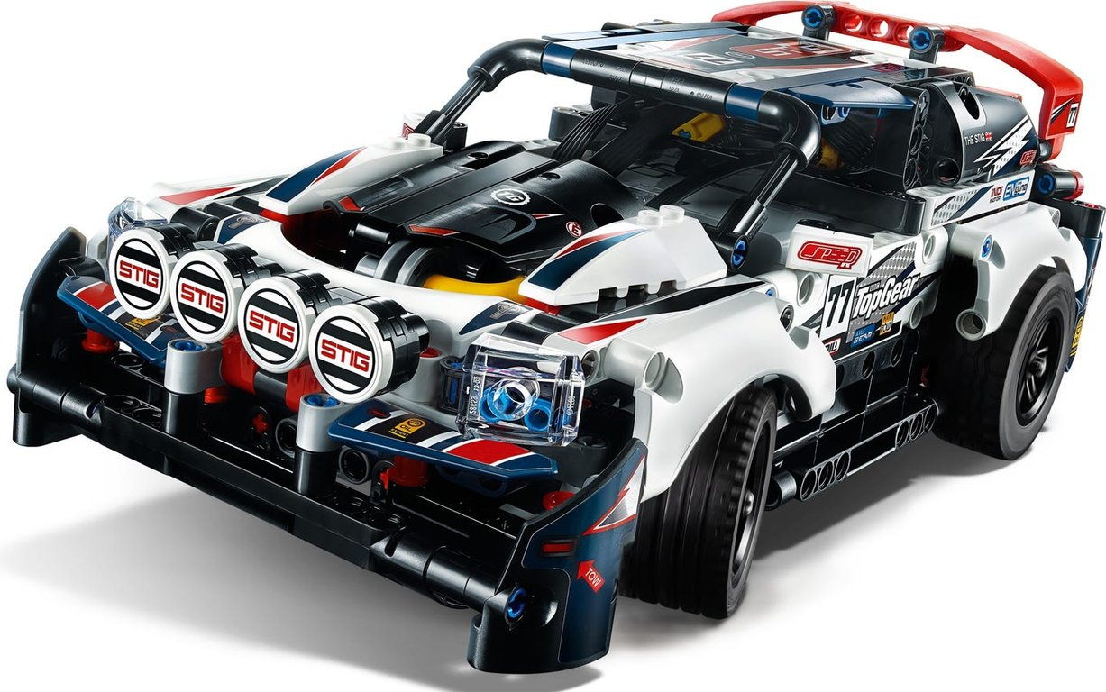 LEGO® Technic App-Controlled Top Gear Rally Car components