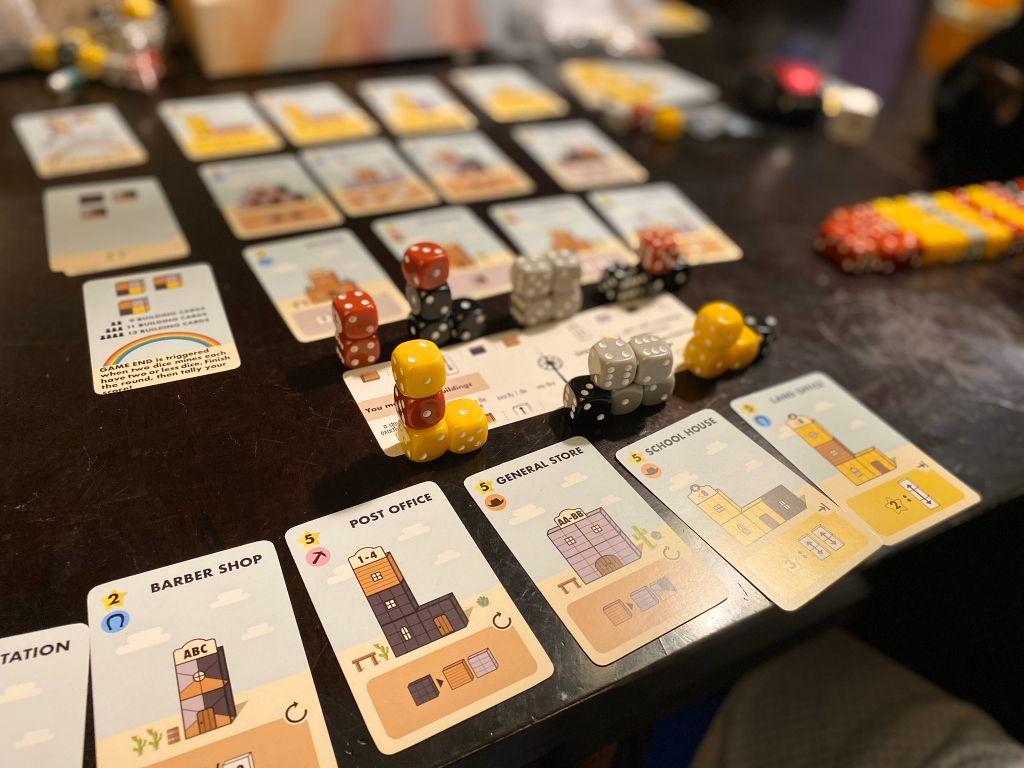 Tumble Town gameplay