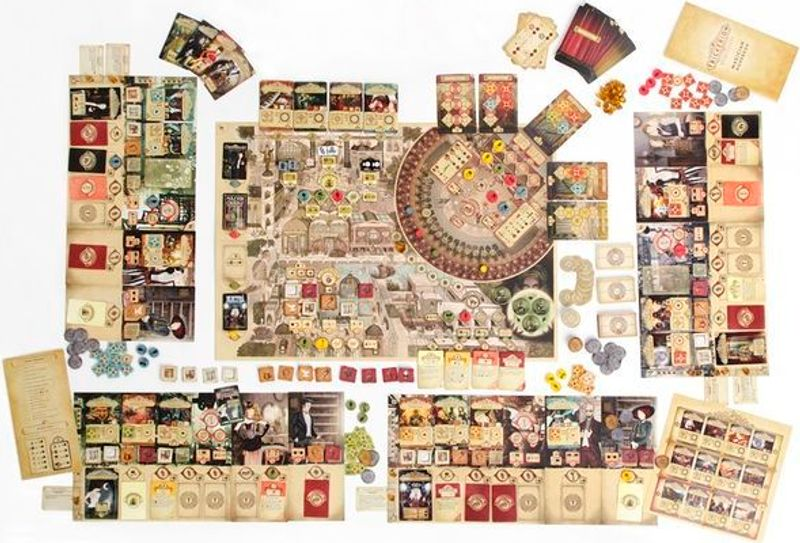 Trickerion: Legends of Illusion components