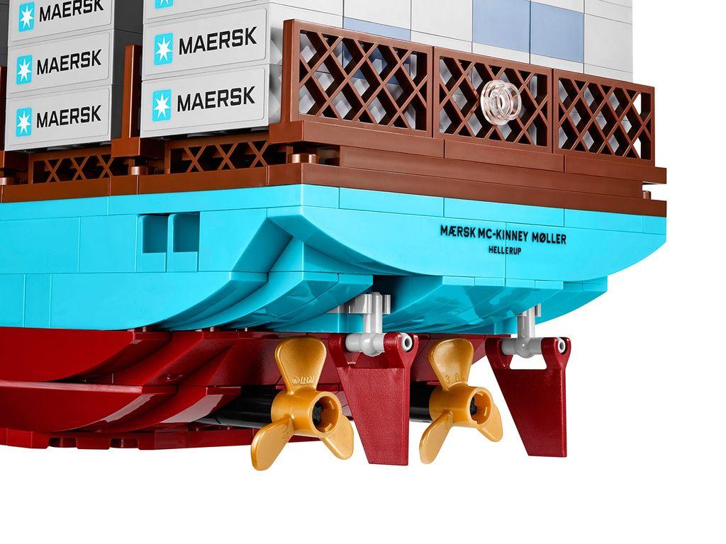 Maersk Line Triple-E back side