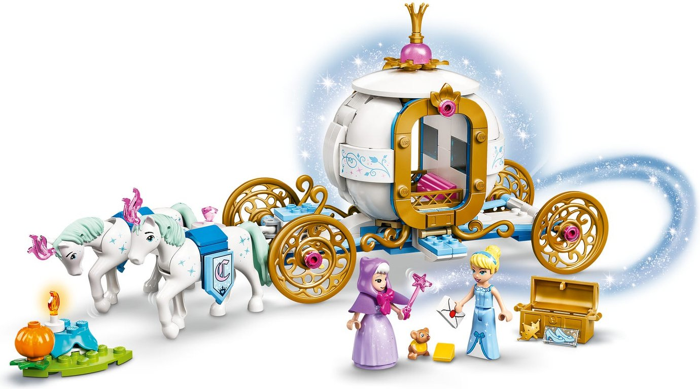 LEGO® Disney Cinderella's Royal Carriage gameplay