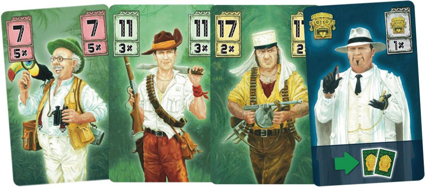 Chachapoya cards