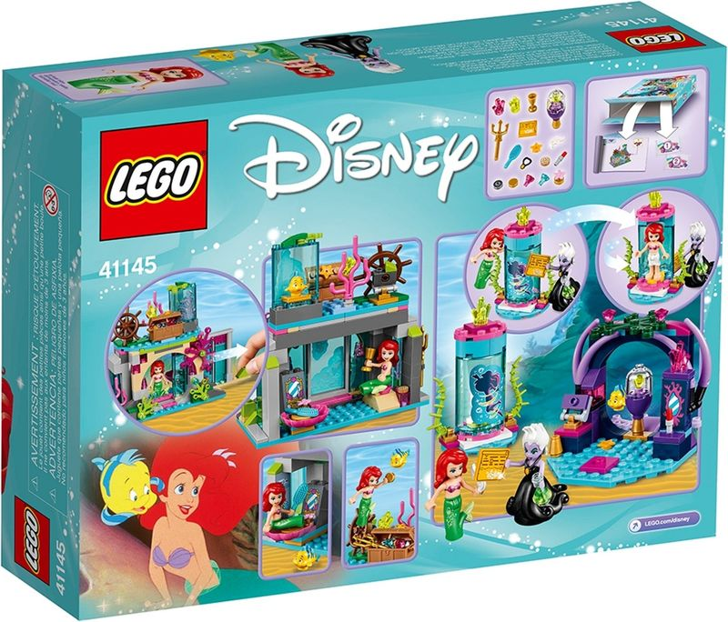 LEGO® Disney Ariel and the Magical Spell back of the box