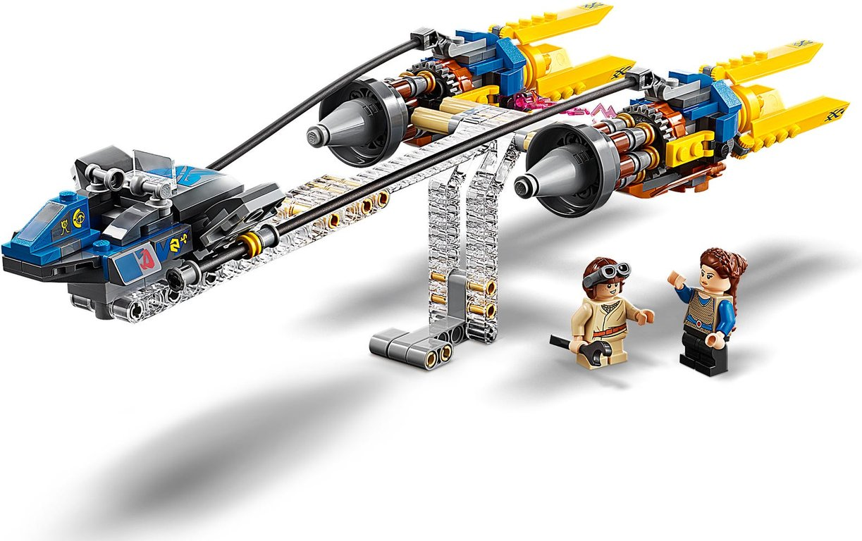 LEGO® Star Wars Anakin's Podracer™ – 20th Anniversary Edition components