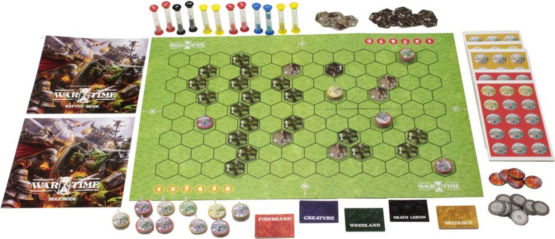 Wartime: The Battle of Valyance Vale components