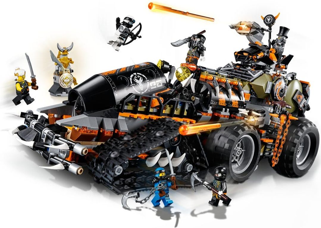 LEGO® Ninjago Dieselnaut gameplay