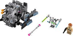 LEGO® Star Wars General Grievous' Wheel Bike components