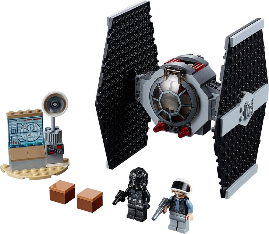 LEGO® Star Wars TIE Fighter™ Attack components