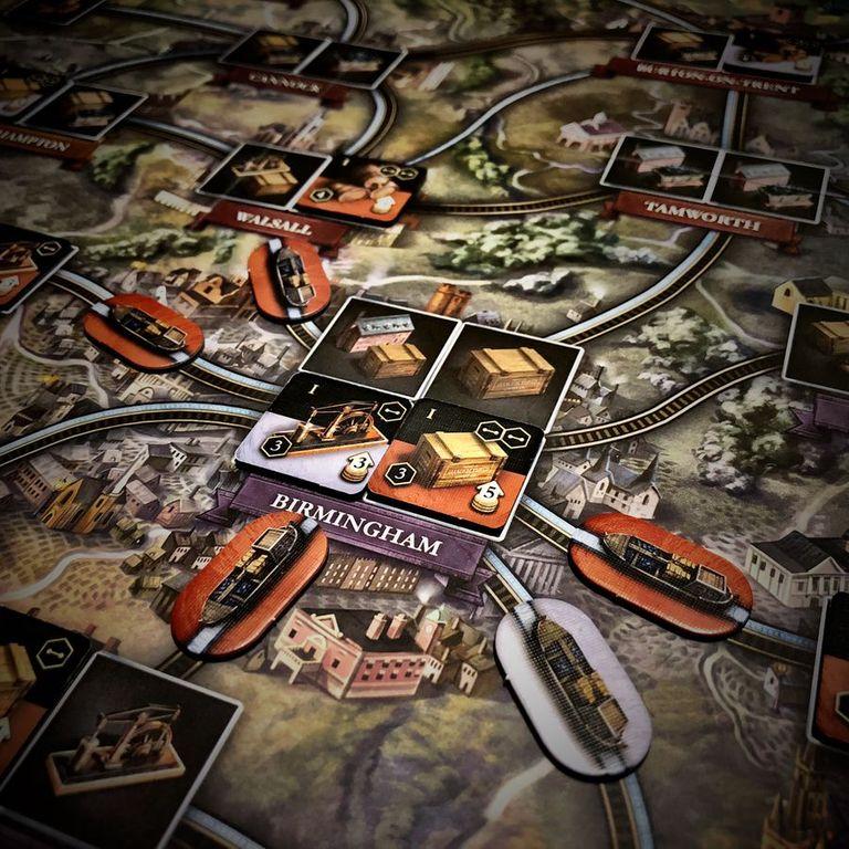Brass: Birmingham gameplay