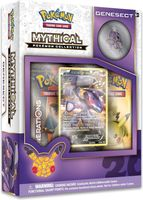 Pokémon Genesect Mythical Cards Collection Box