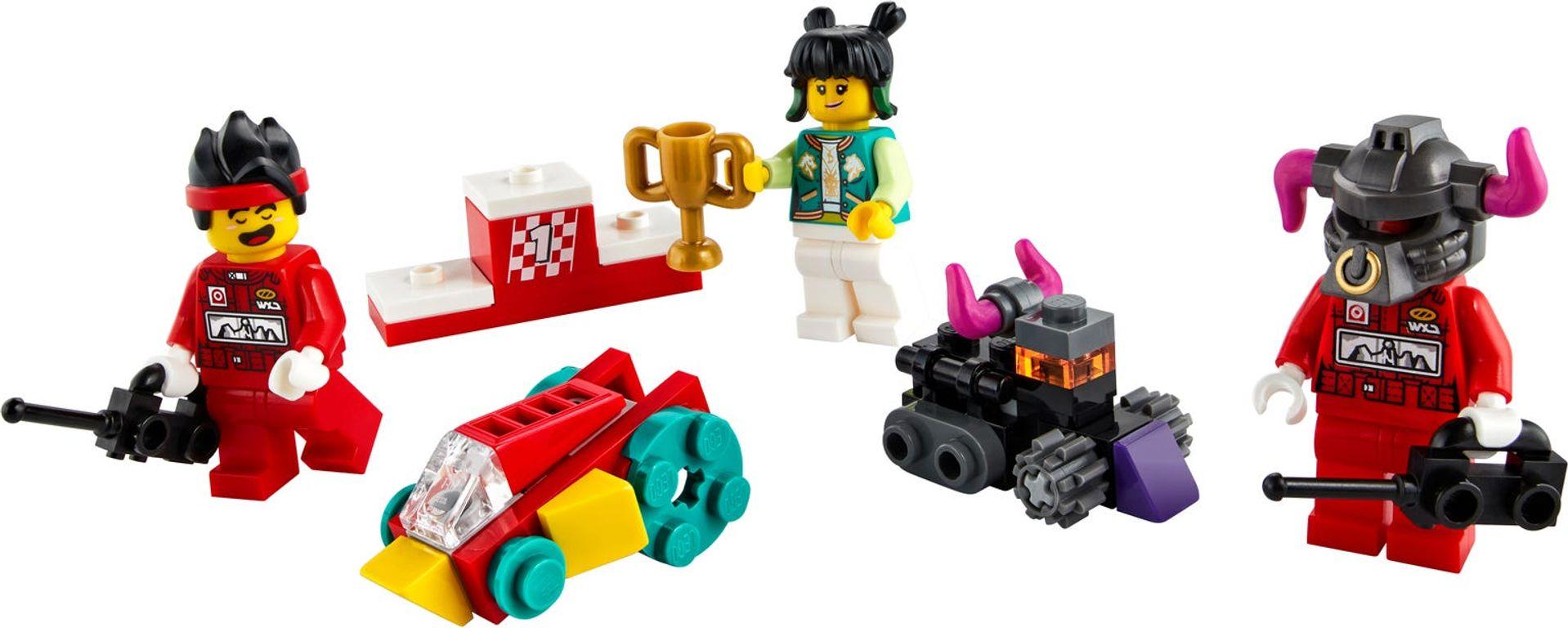 LEGO® Monkie Kid Monkie Kid's Cloud Bike minifigures