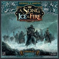 A Song of Ice & Fire: Tabletop Miniatures Game – Greyjoy Starter Set