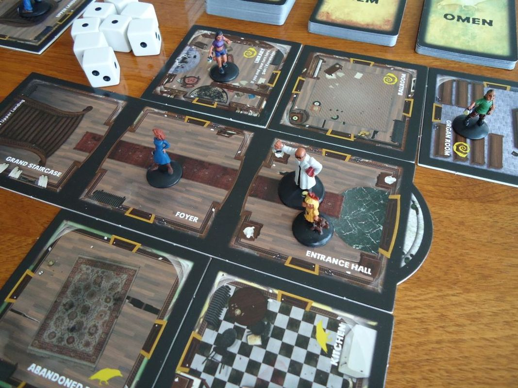 Betrayal at House on the Hill gameplay