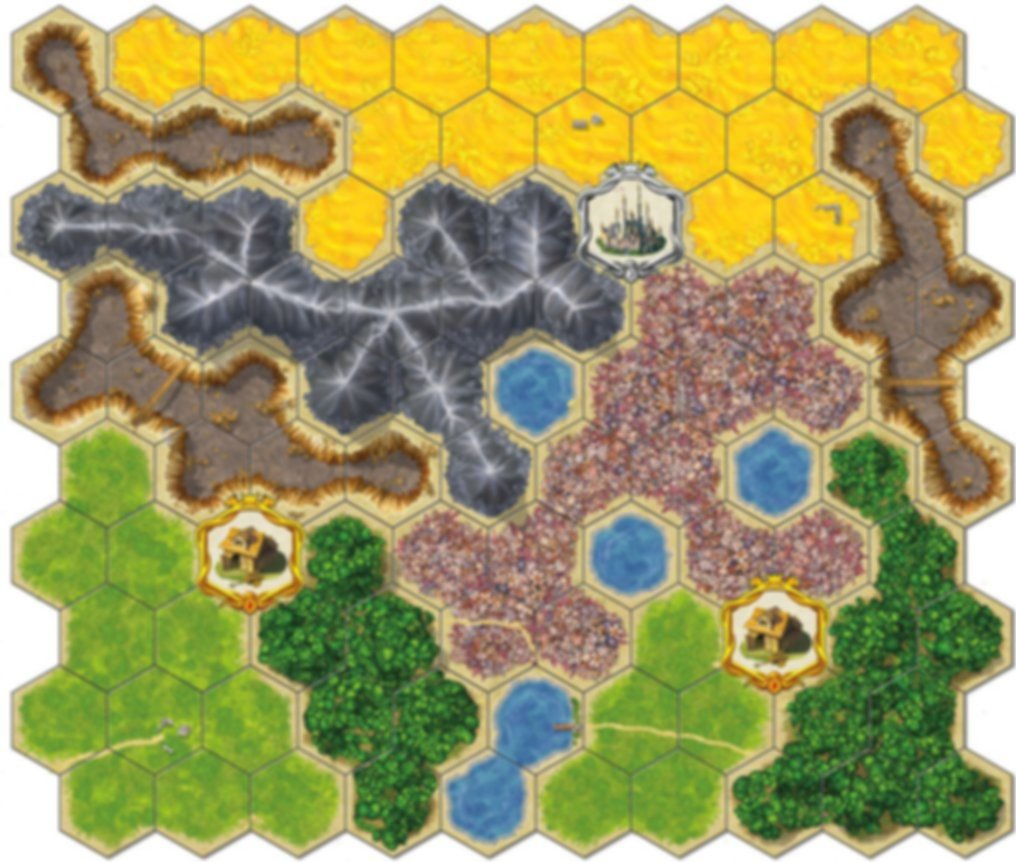 Kingdom Builder game board