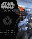 Star Wars: Legion – E-Web Heavy Blaster Team Unit Expansion