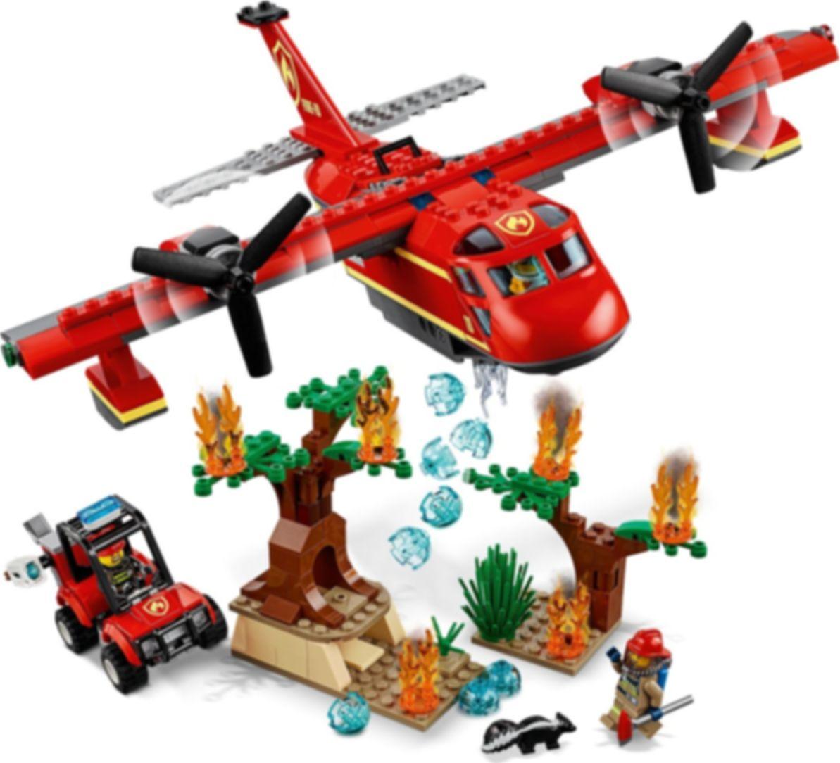 LEGO® City Fire Plane gameplay