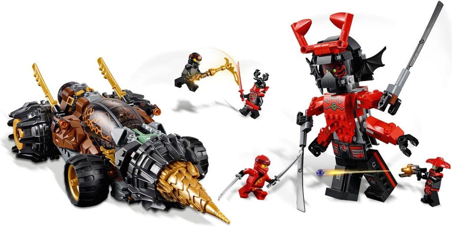 LEGO® Ninjago Cole's Earth Driller gameplay