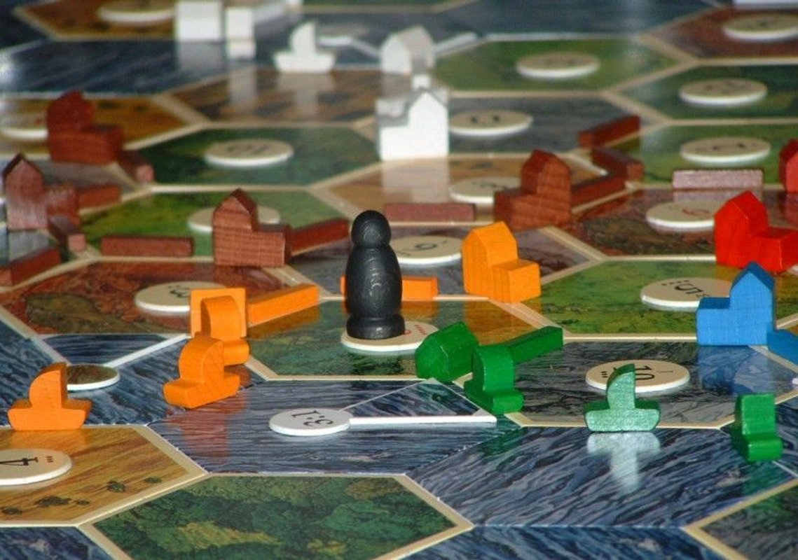 Catan: Seafarers components
