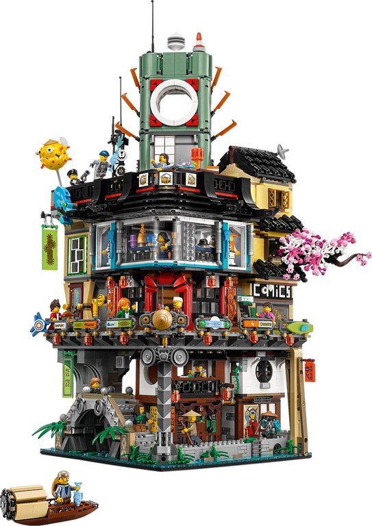 LEGO® Ninjago City components