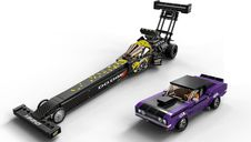 LEGO® Speed Champions Mopar Dodge//SRT Top Fuel Dragster and 1970 Dodge Challenger T/A components