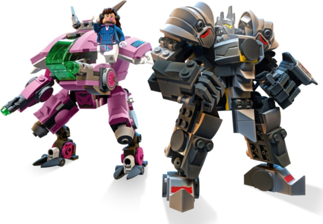 LEGO® Overwatch D.Va & Reinhardt gameplay