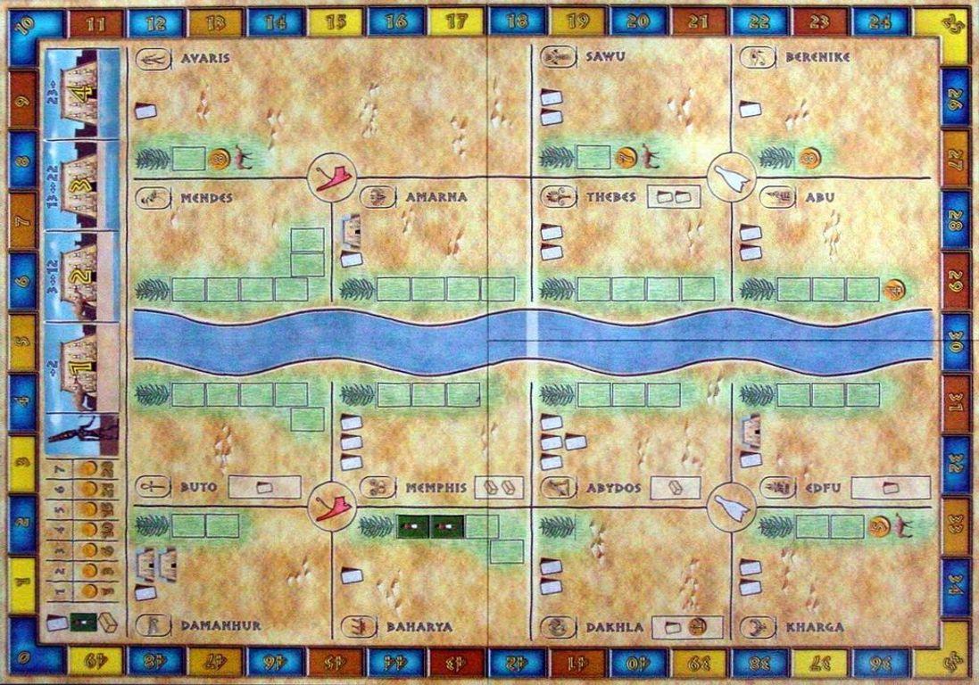 Amun-Re game board