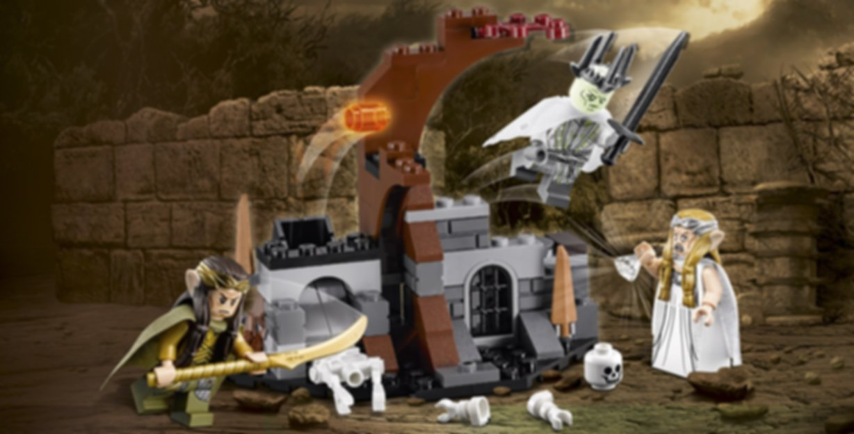LEGO® The Hobbit Witch-king Battle gameplay